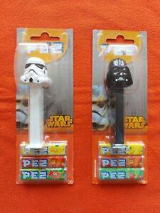 Star Wars: Darth Vader und Stormtrooper Dispenser / Spender von PEZ - OVP