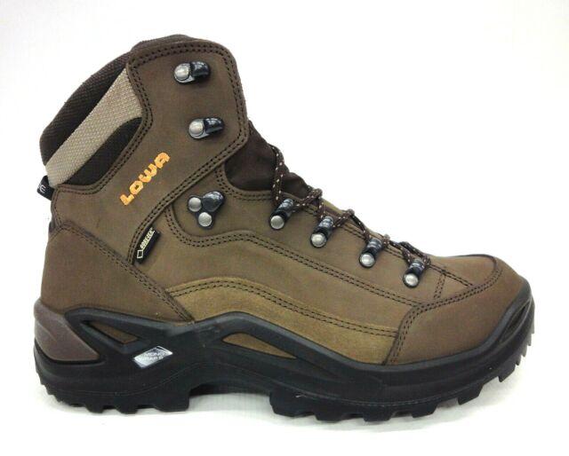 328c0eb49f3 LOWA Renegade GTX Mid Light Hiking BOOTS Medium Width Sepia Size 10