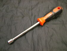 Socket nut spinner driver screwdriver 11mm hex, soft grip handle, Endura brand