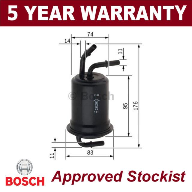Bosch Filtro de Combustible Gasolina Diesel F3012 F026403012