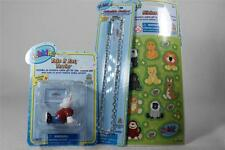 Webkinz Set of 3 'Take It Easy Terrier Figurine+Necklace+Stickers' All NEW!
