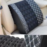 2017 Car Seat Support Dc 12v Charger Massage Lumbar Back Brace Shaking Cushion
