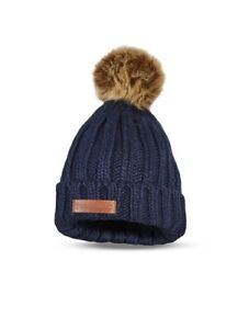New Holland Beanie Wooley Hat with Bobble