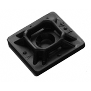 "NTE Electronics 04-MP7500 MOUNT PAD 3//4/"" SQUARE RUBBER BLACK #4 SCREW 100//BAG"