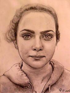 Photo original teen girl portrait