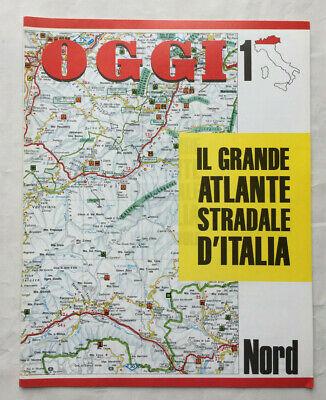 Cartina Stradale D Italia.Il Grande Atlante Stradale D Italia Oggi N 1 Nord Ebay