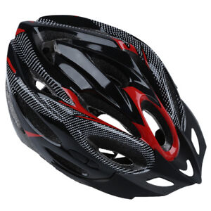 JING-SU-ZHE-Sports-Red-Bike-Bicycle-Cycling-Safety-Helmet-with-Visor-Adult-P9V5