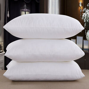 20x-PLAIN-WHITE-SQUARE-PILLOWCASES-HOME-amp-HOTEL-PILLOW-CASES-COVER-65x65CM