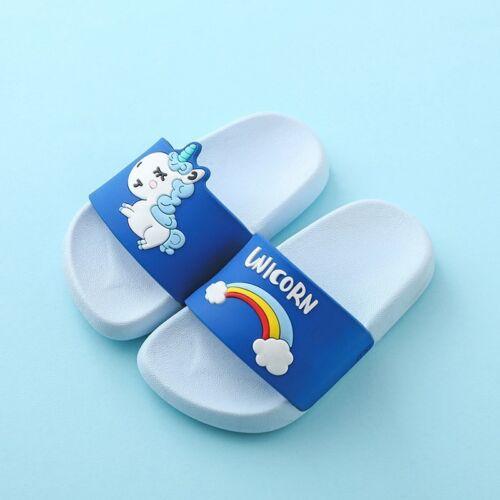 Mini Melissa Unicorn Boys Girls Slippers Sandals Children Jelly Sandals