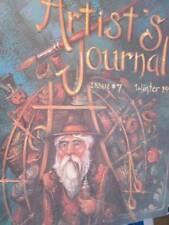 Artist's Journal Winter 1991 #7-Jo Sonja/Christmas Related-Santa Plate/England-P