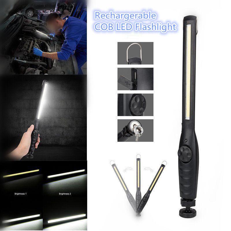 Vastfire Led Arbeitsleuchte Taschenlampe Werkstattlampe Cob Inspektionsleuchten  | Ausgewählte Materialien