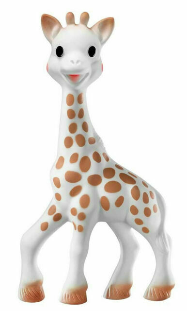 Vulli Sophie the Giraffe La Baby Teether Natural Rubber Paci