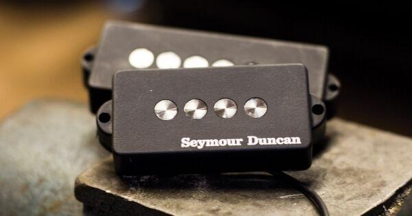 Seymour Duncan Quarter Pound 5 5 5 Cuerdas p bass pickup grande de 1 4  de diámetro de Alnico 5 ce9697