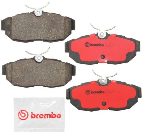 Disc Brake Pad Set-Premium NAO Ceramic OE Equivalent Pad Rear Brembo P24165N