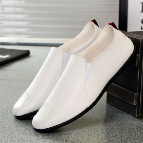 Summer Men Driving Casual Boats Shoes PU Leather ShoesMoccasinsSlip On LoaferFEH