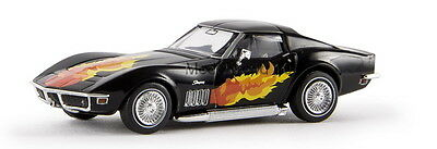"BREKINA CORVETTE C3 COUPE' ""FLAMES"" 1/87 H0 19967"