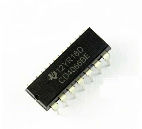 100PCS CD4066 TI DIP-14 CMOS QUAD BILATERAL SWITCH NEW IC GOOD QUALITY