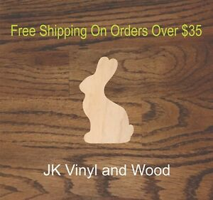 Bunny, Easter, Chocolate, Laser Cut Wood, Wood Cutout, Crafting ...