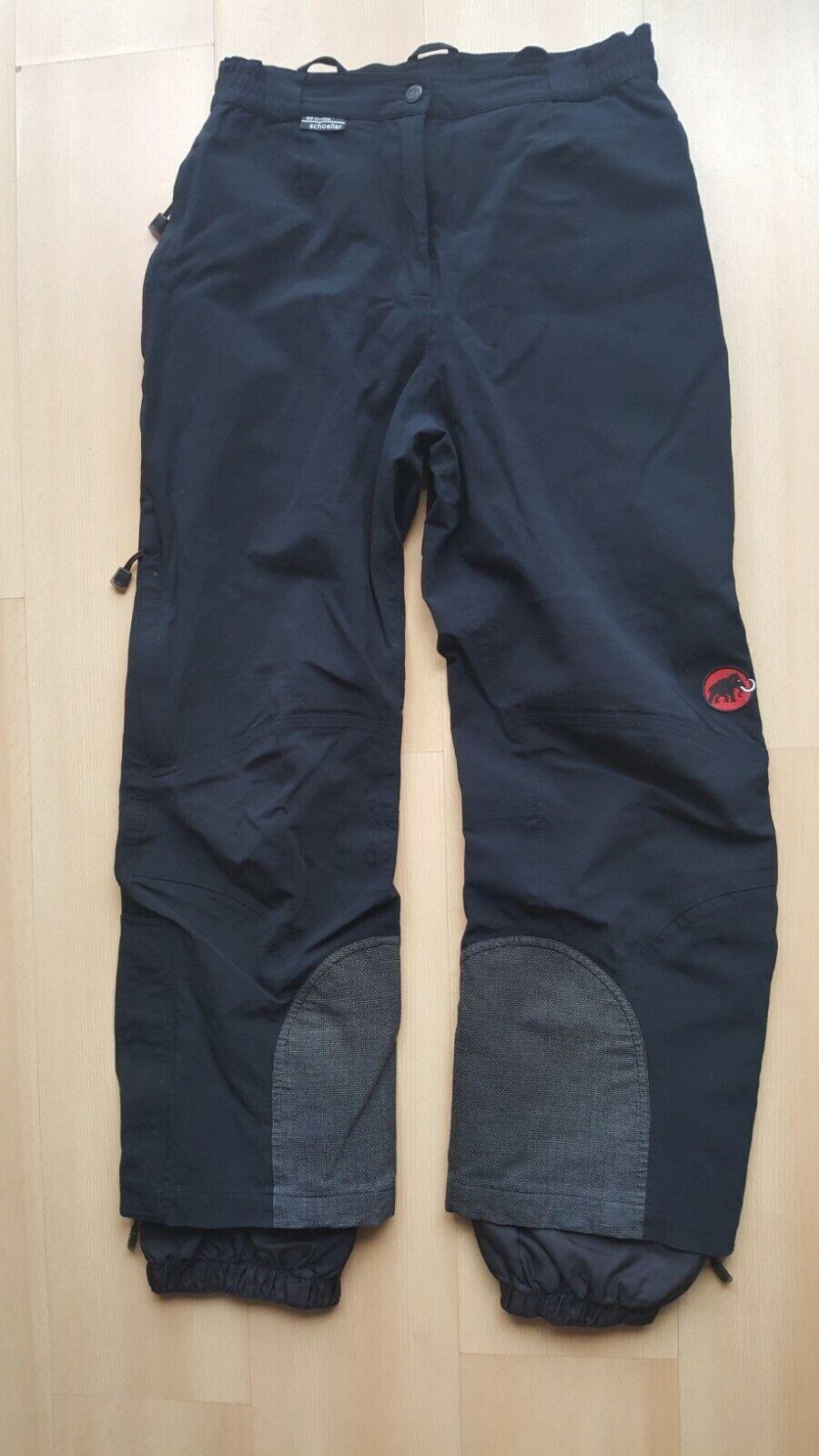 Mammut Hiking Pants Softshell Trekking Ski Schoeller Trousers Womens SIze EU40