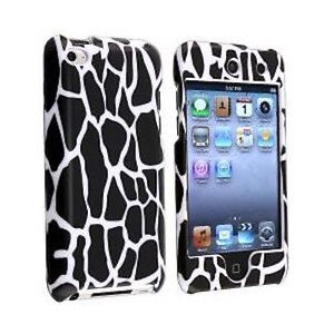 For-Apple-iPod-Touch-4th-Gen-4G-Black-Giraffe-Animal-Print-Full-Hard-Case-Cover