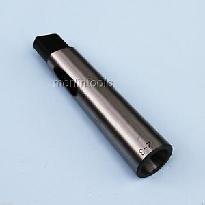 Drills Parts MT2 to MT3 Morse Taper Adapter Reducing Drill Sleeve
