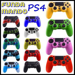 Funda-de-silicona-para-mando-Sony-PlayStation-4-PS4-Play-Camuflaje-Carcasa-Gel