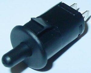 Tastschalter-Endtaster-Schliesser-Taster-rund-schwarz-1A-250V-S72S