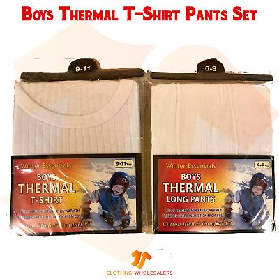 Essentials Boys Thermal Long Underwear Set