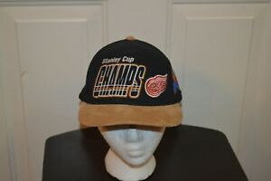 NHL-HOCKEY-1997-STANLEY-CUP-CHAMPIONSHIP-STARTER-CAP-HAT-DETROIT-RED-WINGS