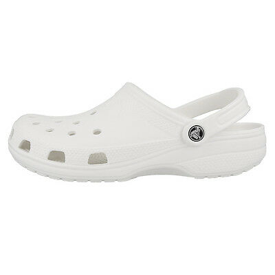 Sensible Crocs Beach Classic Clog Sandale White 10002-100 Clogs Schuhe Badeschuhe Unisex Clothing, Shoes & Accessories