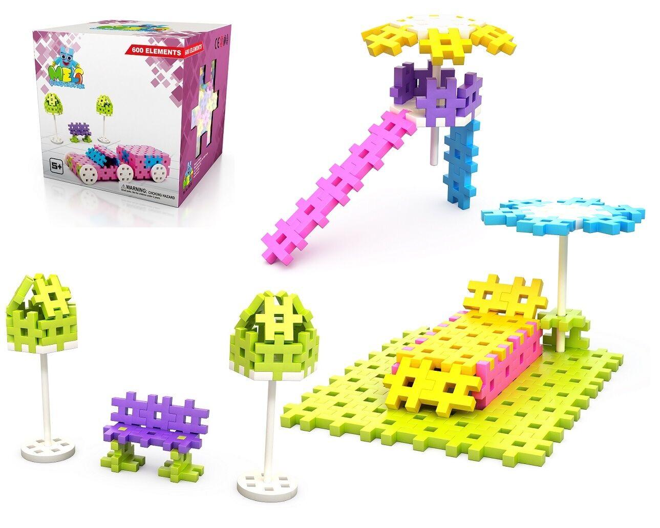 Konstruktionsspielzeug Constructor Girls 600 Teile Bausteine Mädchen Puzzle 3D