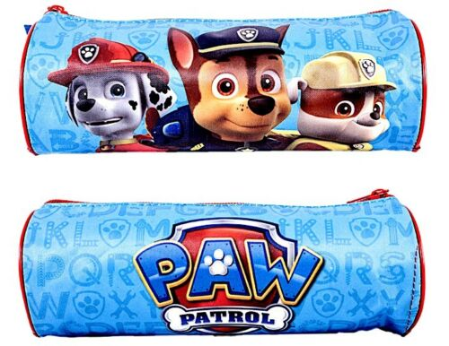 Paw Patrol Pencil Case Skye Everest Case Kids Boys Girls Tube Barrel School
