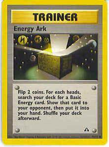 POKEMON NEO DISCOVERY ENERGY ARK 75//75 Inglese-MINT//NEAR MINT