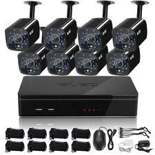 ELEC CCTV 8CH DVR 960H HDMI 1500TVL Home Remote Access Security Camera System