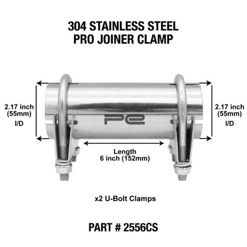 """2.17/"""" pouces 55 mm Pince Tuyau d/'échappement Pro Menuisier Connecteur Manche 2556 CS"""