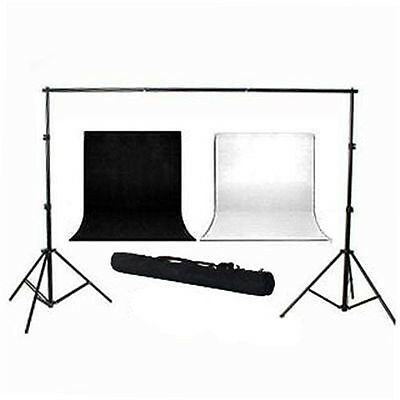 Photography Video 2.8mx3m Support Stand 3mx6m Muslin Backdrop Background Set AU