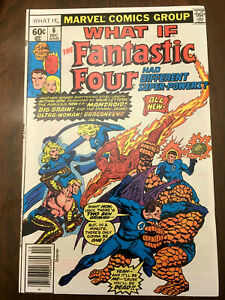 WHAT-IF-6-Fantastic-Four-1977-HIGH-GRADE-BRONZE-AGE