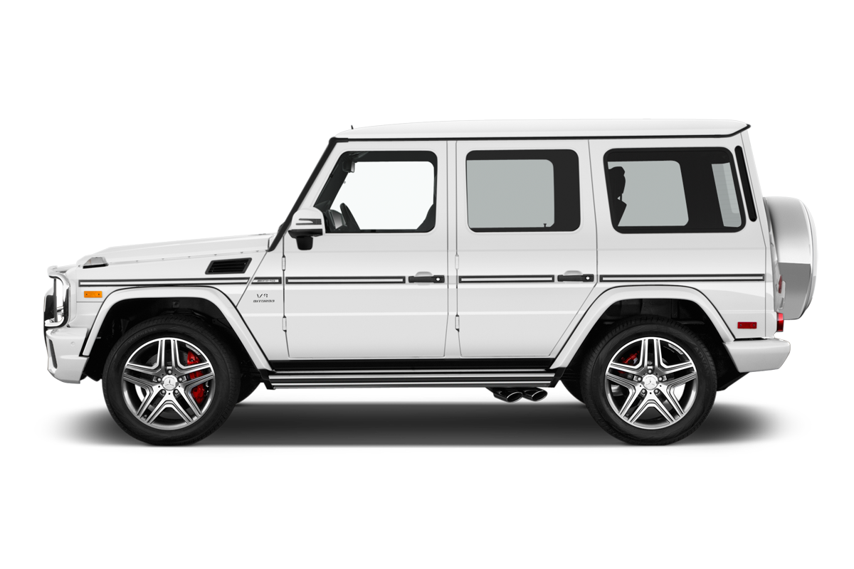Mercedes-Benz G-Class side view