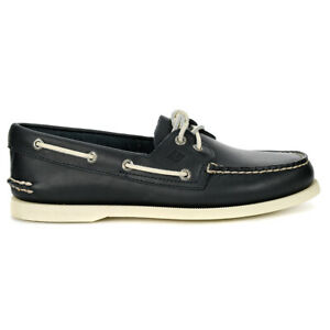 Sperry-Top-Sider-Men-039-s-Authentic-Original-Leather-Boat-Shoe-Navy-STS10405-NEW