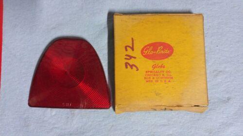 1953 Chevrolet Inner Tail Light Lens Glo-Brite Globe 342 VB CH7 NORS NOS