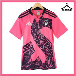 Stade Francais Rugby Shirt Adidas Medium Away Paris Rugby Union Jersey 2014 B92