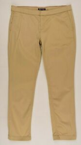 TOMMY-HILFIGER-Women-039-s-SILVANA-Skinny-Chino-Pants-Beige-size-UK-14