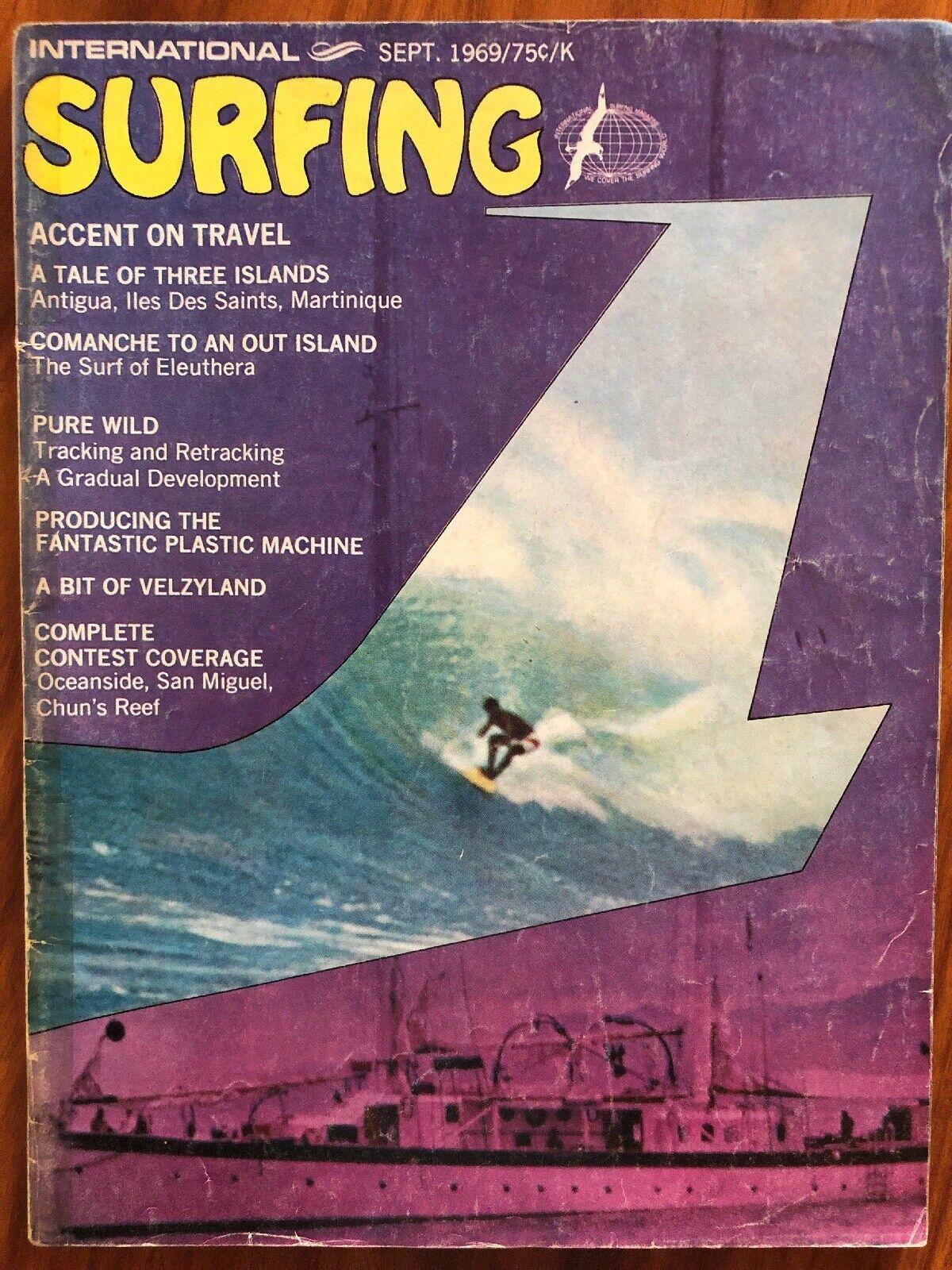 """Surfing"" Magazine, Vintage Issue (September, 1969)"