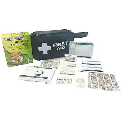 Steroplast Medical Incidente Ufficio Casa Indispensabile Kit Di Primo Soccorso Custodia- Le Merci Di Ogni Descrizione Sono Disponibili