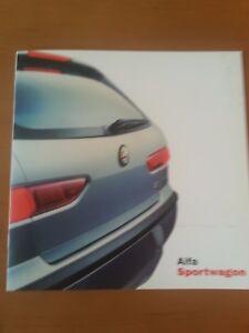 Alfa Romeo Sport Wagon, 04/2000, 6 Pages-afficher Le Titre D'origine