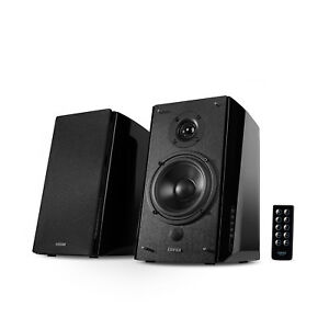 Edifier R2000DB Powered Bluetooth Bookshelf Speakers Optical Input Wood