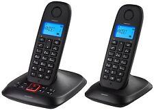 Topcom TE-5736 DECT-Telefon mit Anrufbeantworter (2-er Set) ergonomisches Design