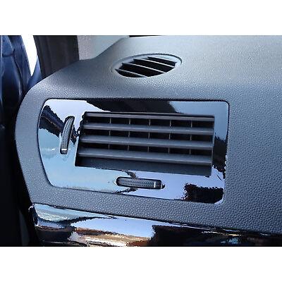 ASTRA H Mk5 VXR Black Gloss vinyl Effect air vents trims