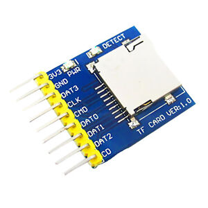 Details about SD Card Shield Module Memory Read Write Reader For Arduino  STM32 MSP430