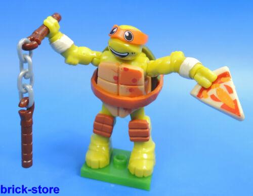 Figur Michelangelos MEGA BLOCKS Nr.02 Teenage Mutant Ninja Turtles Serie 1